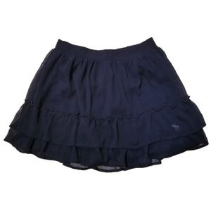 Abercrombie & Fitch Navy Skirt
